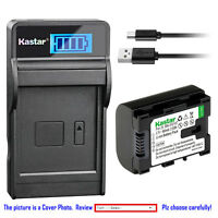 Kastar Battery LCD Charger for JVC BN-VG107, BN-VG107U, BN-VG107US, BN-VG107USM