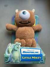 RARE 2001 HTF DISNEY HASBRO MONSTERS INC LITTLE MIKEY PLUSH