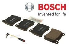 For Mercedes W203 C230 C280 C240 C320 SLK350 Front Brake Pad Set w/ Sensor Bosch