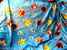 NINTENDO Super Mario Brothers Bed Sheet (Double/ Full Sheet)