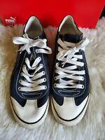 Puma sneakers black/white size 10
