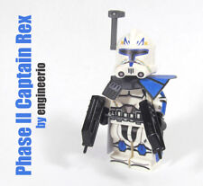 LEGO Custom - Captain Rex v4 - Star Wars Clone Trooper Commando mini fig