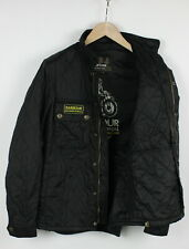 Barbour International Tankerville Uomo S Imbottito Poliammide Giacca Shell 29589