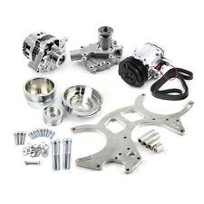 Ford 351C Cleveland Billet Aliminium Serpentine Engine Pulley Set