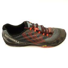 Merrell Size 13 Mens Trail Glove 4 Vibram Black Athletic Trail Running Shoes