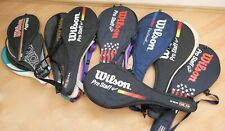 21x raqueta de tenis funda nuevo wilson adidas Babolat Dunlop Snauwaert 90er 2000er