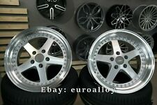 New 4x 18 inch 5x120 WORK Equip style rims for BMW JDM old school japan wheels