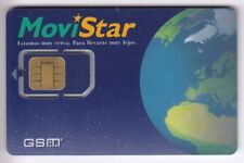 TELECARTE GSM SIM COLLECTOR .. ESPAGNE MOVISTAR TELEFONICA ESPACE +N° CHIP/PUCE