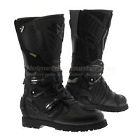 Sidi Adventure 2 Gore-tex Motorcycle Boots- Black, Fast 'N Free Shipping