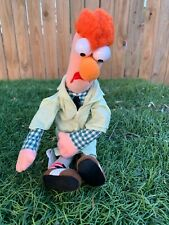 "Muppet-Vision 3-D BEAKER 12"" Plush Doll Muppets Show Disney Theme Parks"