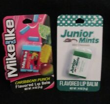 "Taste Beauty Flavored LIp Balm/Balms- ""JUNIOR MINTS AND /MIKE AND IKE"""