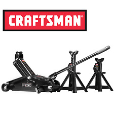 NEW Craftsman 2 1/4 Ton Hydraulic Floor Jack Set w/ 2 Jack Stands Auto Car Tool