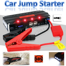 80000mAh Voiture Chargeur Batterie Auto Booster Jump Starter Charge 12V 4USB EU