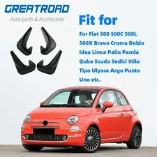 For Fiat 500 500x Mud Flaps Mudflaps Splash Guards Mudguards