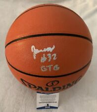 MEMPHIS TIGERS JAMES WISEMAN SIGNED NBA BASKETBALL W/ BECKETT COA + INSCRIPTION