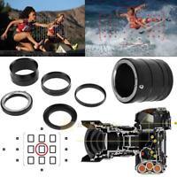 Macro Lens Extension Tube Adapter Ring For Nikon D7200 D7000 D5500 D5300 D5200