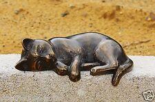 bronzekatze Pequeño Gato tigrecillo Figura Bronce