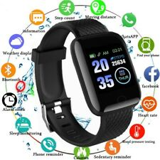 Smart Watch Fitbit Smartband Bluetooth Step Calorie Fitness Track Android iPhone