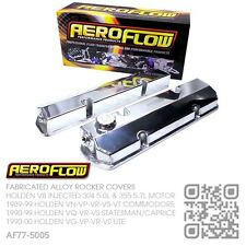 AEROFLOW FABRICATED ROCKER COVERS V8 304-355 [HOLDEN VN-VP-VR-VS-VT COMMODORE]