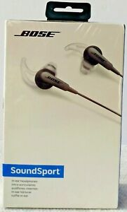 BOSE SoundSport Noise Canceling Music Headphones Audio In-Ear Wired Black Sealed