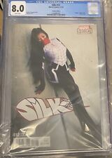 Silk #12 Variant Cosplay Cover Spider-Man CGC 8 Rare