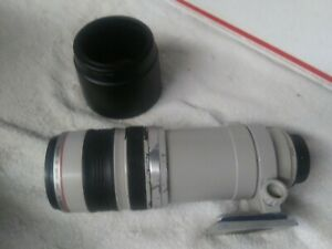 USED CANON 77mm ULTRASONIC EF 100-400mm ZOOM LENS 1:4.5-5.IMAGE STABILIZER AS-IS