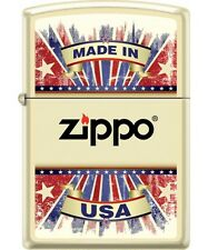 BRIQUET ZIPPO - MADE IN THE USA