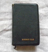 1959 Pocket Bible LDS Mormon Scriptures Ready Reference Black Softcover