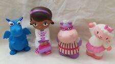 Disney Doc Mcstuffins & Friends Toy Figures  Just Play lot of 4 bath toys