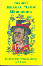 PAPA JIM'S HERBAL A to Z  MAGIC WORKBOOK  Spanish Translation Page for 150 Herbs