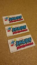 Smurf Supercards, #9, #19, #13, 1982.
