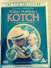 Walter Matthau KOTCH ~ 1980 Jack Lemmon Directed Comedy / Drama ~ Rare UK DVD
