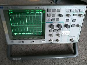 Digital Storage Oscilloscope 100Mhz 2 channel - Hewlett Packard 54600B