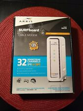 ARRIS SURFboard Gigabit + Cable Modem (SB6190) DOCSIS 3.0 Gaming -  NEW! (BLACK)