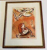 The Face Of Isreal Marc Chagall Orginal Lithograph