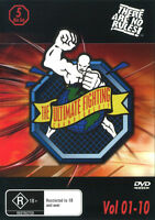 The Ultimate Fighting Championships Vol 1-10 DVD New and Sealed 5 disc Set
