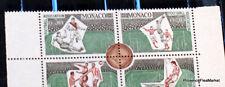 MONACO 1963  BLOC DE 4 COINS DATES NEUFS** LUXE N° 628/31 ** bd58