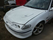 FORD FALCON TICKFORD EF EL XR6 XR8 FLUTED BONNET GREEN WITH VENTS