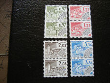 FRANCE - timbre - yvert et tellier preoblitere n° 174 a 177 x2 n** - stamp (A1)