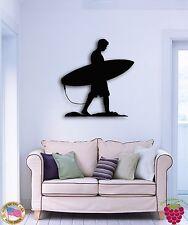 Wall Stickers Vinyl Decal Serfer Serfing Water Sport Ocean Beach Decor  z1580