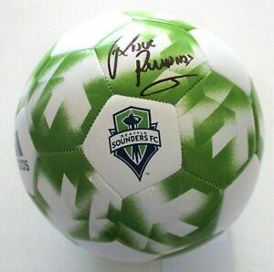 Raul Ruidiaz Seattle Sounders Signed Soccer Ball w/COA MLS Futbol Size 5