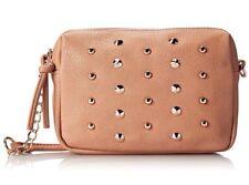 Wild Pair With Metal Bronze Studs Cross Body Handbag  - Blush Msrp $54.00