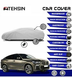 BMW X6 Car Cover Fitted Waterproof Snow Rain UV Sun Dust