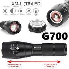 G700 Taktische 2000LM LED Taschenlampe Militär Lumitact Alonefire Zoomable Neu