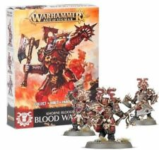 Warhammer AoS Easy to Build Chaos Bloodbound Blood Warriors Blades of Khorne