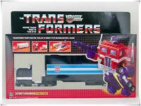 G1 Reissue TRANSFORMERS AUTOBOT Black Optimus Prime free shipping