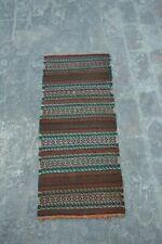 vintage handwoven Afghan maldari tribal kilim Nomadic kilim bohemian decor kilim