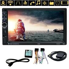 """7"""" 1080P Quad Core 4G WIFI Double 2DIN Bluetooth Car Radio Stereo MP5 GPS Player"""