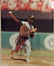 Oakland Athletics Dave Stewart Autograph 8x10 PHOTO w/COA Auto
