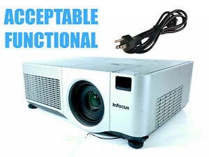 InFocus IN5104 3LCD Projector - Acceptable Functional w/Power Cable